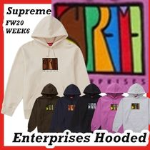 Supreme Enterprises Hooded Sweatshirt AW FW 20 WEEK 6