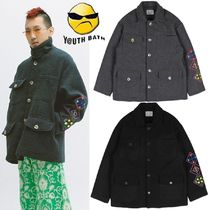 ★YOUTHBATH★OVER-FIT WOOL COAT 2色