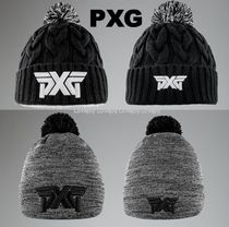 PXG ◇ キュートなボンボン付♪ HEATHERED STORM KNIT BEANIE