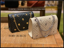 半額TORY BURCH★FLEMING CHARM SMALL CONVERTIBLE SHOULDER BAG