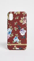 ★RICHMOND & FINCH★ Red Floral iPhone Case