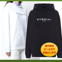 GIVENCHY★GIVENCHY PARISコットンフーディー