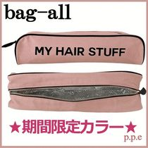 期間限定*bag-all*HAIR STUFF CASE PINK /関送込