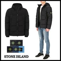 【STONE ISLAND】20AW/GARMENT DYED CRINKLE REPS NY DOWN/ロゴ