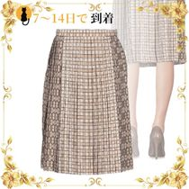 《海外発送》BURBERRY Knee length skirt