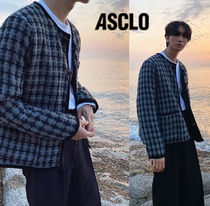 ASCLO Youth Hound Check Tweed Jacket
