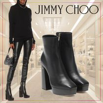 【JIMMY CHOO】Bryn leather ankle boots 502351