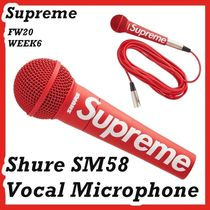 Supreme Shure SM58 Vocal Microphone RED AW FW 20 WEEK 6