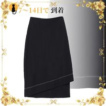 《海外発送》JIL SANDER 3/4 length skirt
