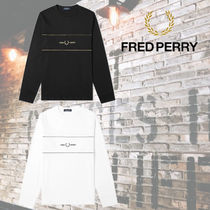 FRED PERRY(フレッドペリー) Tシャツ・カットソー 【秋春おすすめ】FRED PERRY Embroidered Long Sleeve Tee