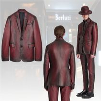 20冬★新作★Berluti★Patina grain leather blazer ジャケット