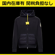 MONCLER JW ANDERSON ナイロン 切り替え スウェットパーカー