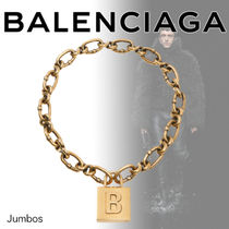 【BALENCIAGA】AW ロック チェーン 南京錠 モチーフ ネックレス