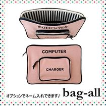 Bag all(バッグオール) テックアクセサリー 【bag-all】関送込 Newカラー♪ COMPUTER CASE SMALL PINK