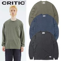 ★CRITIC★PIGMENT POCKET LONG SLEEVES 3色
