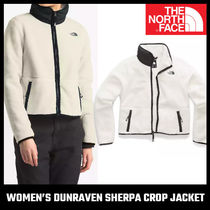 【THE NORTH FACE】WOMEN'S DUNRAVEN SHERPA CROP JACKET