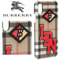 Burberry☆Printed iPhone X/XS ケース☆