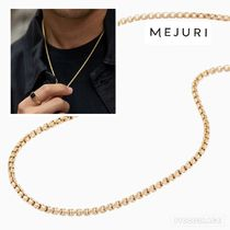 MEJURI(メジュリ) ネックレス・チョーカー 相場12万以上【MEJURI】14KRound Box Chain Necklace:送料追跡込