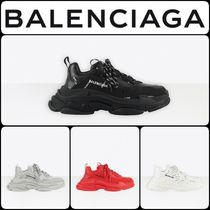 BALENCIAGA★ALLOVER LOGO TRIPLE S スニーカー