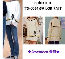 【ROLAROLA】(TS-0064) SAILOR KNIT ★Seventeen 着用★
