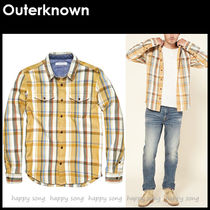 Outer known(アウターノウン) シャツ Outerknown★アウターノウン BLANKET ブランケット シャツ