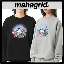 ☆関税込☆mahagrid★BIRD AND FLOWER SWEATSHIR.T★スウェット