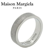 ☆NEW☆【Maison Margiela】 ロゴ silver リング 関/送込210MM18