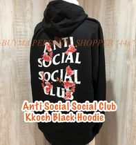 *大人気!*Anti Social Social Club Kkoch Black Hoody