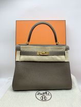 【即発】HERMES KELLY ケリー II RETOURNE 28 ETOUPE