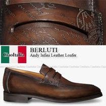 BERLUTI  Andy Infini Leather Loafer