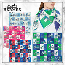 ◆Hermes 20SS 最新作◆Voitures Exquises カレ 90◆