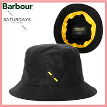 ☆送料関税込☆Barbour X Saturdays NYC ロゴ入り Bucket Hat