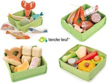 ☆tender leaf toys☆ 可愛い木製マーケットセット ままごと♪