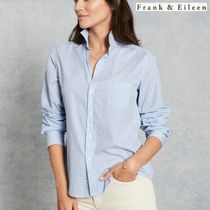 【Frank & Eileen】ストライプシャツ【BARRY Brushed Cotton】