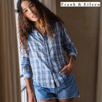 【Frank & Eileen】チェックシャツ【BARRY Brushed Cotton】