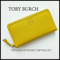 関税込+即発 TORY BURCH★THEA MULTI GUSSET ZIP WALLET