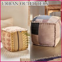 《UO》Patchwork Cube Pouf キューブ型 プフ クッション