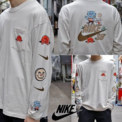 国内発送☆ナイキ★NIKE AS M NK SB TEE L/S ARTIST★MEN'S