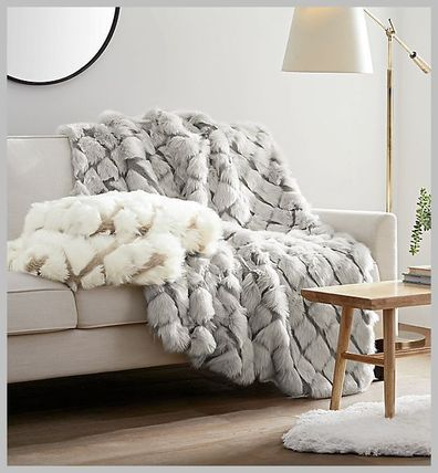 ☆UGG☆ Kaley Faux Fur Throw ブランケット