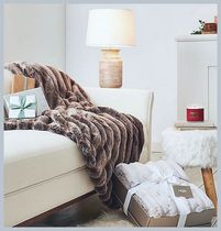 ☆UGG☆ Wild Luxury Faux Fur Throw ブランケット
