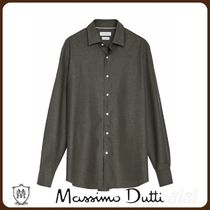 MassimoDutti♪SLIM FIT COTTON TWILL SHIRT