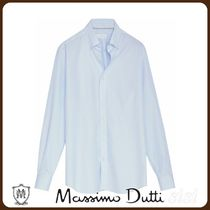 MassimoDutti♪STRIPED COTTON SHIRT