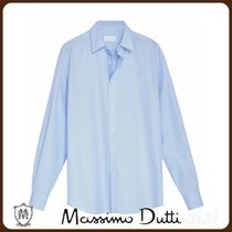 MassimoDutti♪SLIM FIT MICROSTRIPED COTTON SHIRT