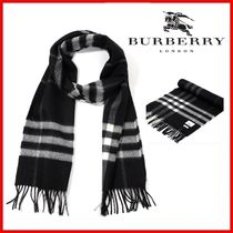 ◆Burberry◆ UNISEX Giant check cashmere マフラー◆正規品◆