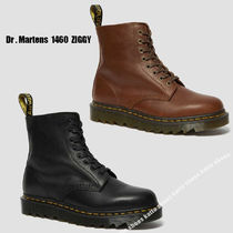 Dr Martens★1460 PASCAL ZIGGY LEATHER LACE UP BOOTS★2色