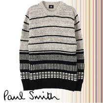 【PAUL SMITH】RED EAR Various Patterns クルーネック ニット