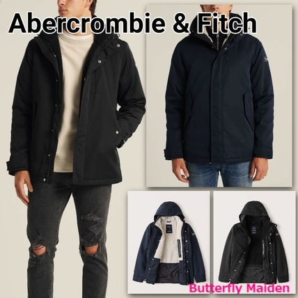 :: Abercrombie & Fitch :: シェルパライニングテックジャケット