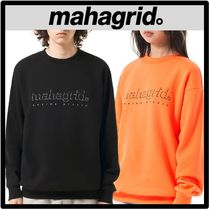 ☆関税込☆mahagrid★SHADOW LOGO SWEATSHIR.T★スウェット