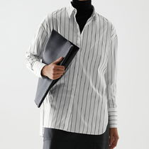 """COS"" ORGANIC COTTON OVERSIZED STRIPED SHIRT WHITE/STRIPE"