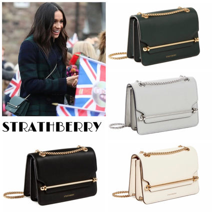 STRATHBERRY ショルダーバッグ・ポシェット ☆国内発送 STRATHBERRY EAST/WEST MINI クロスボディ
